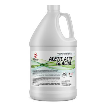 Acetic Acid Glacial in a one gallon bottle