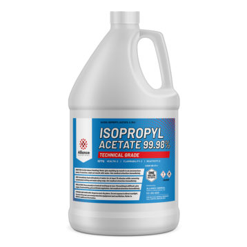 Isopropyl Acetate 99.98% in a gallon bottle