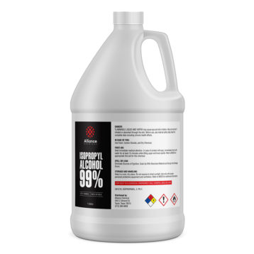 Isopropyl Alcohol 99% in a gallon bottle