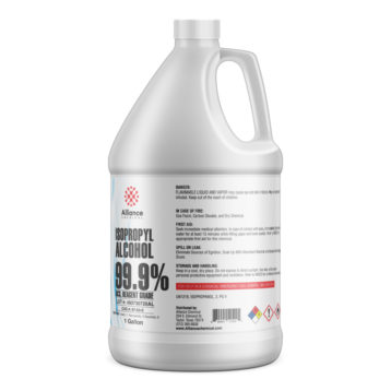 Isopropyl Alcohol 99.9% ACS Gallon Bottle