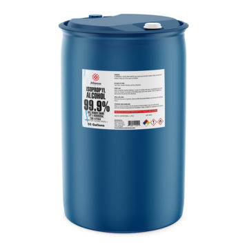 Isopropyl Alcohol 99.9% ACS in a 55 gallon drum