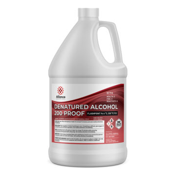 Denatured Alcohol in a gallon bottle