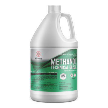 Methanol Technical grade in a one gallon bottle