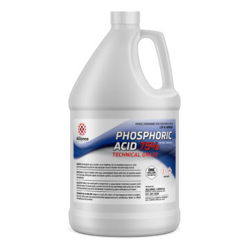 Phosphoric Acid 75% in a gallon bottle