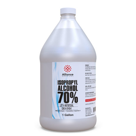 Isopropyl Alcohol 70% in a Gallon Bottle