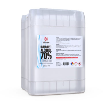 Isopropyl Alcohol 70% in a 5 gallon poly pail