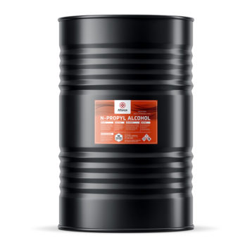 N-propyl Alcohol in a 55 gallon metal drum